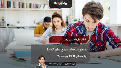 تصویر معیار سنجش سطح زبان کانادا یا همان CLB چیست؟